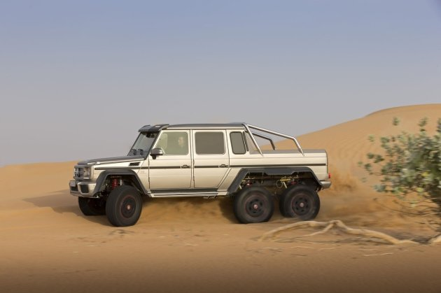 Mercedes-Benz G63 AMG 6x6