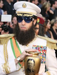 Sacha Baron Cohen apologises to Seacrest for Oscars ashes stunt