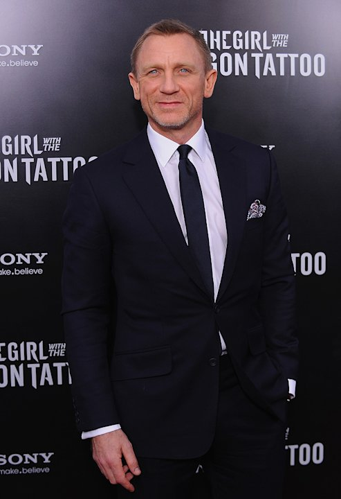 The Girl with the Dragon Tattoo NY Premiere daniel Craig