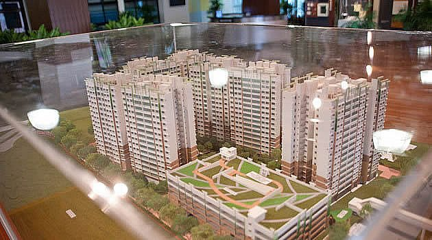 There is a possibility that residential property prices might see a quarter-on-quarter decline in the first quarter of 2012 Property Price Index disclosure. (Yahoo! Photo)