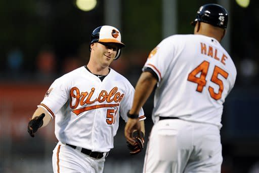 McLouth HR lifts Orioles to 4-3 win over White Sox