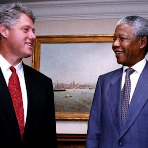 Pres. Clinton remembers his friend, Nelson Mandela