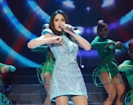 Sarah Geronimo during her 24/SG concert at the Smart Araneta Coliseum on Saturday, July 21. (Photo courtesy of VIVA Concerts)