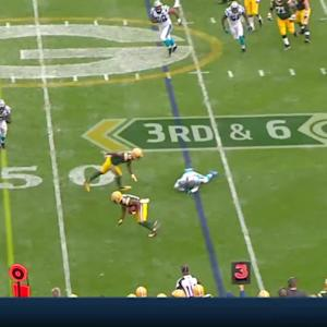 Randall Cobb 33-yard catch