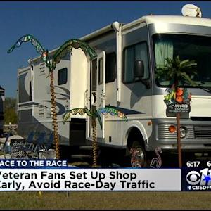 NASCAR Fans Race To The Race At Texas Motor Speedway