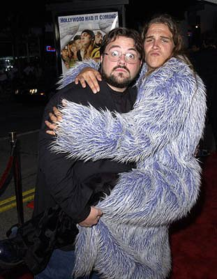 Premiere: Kevin Smith and Jason Mewes at the Westwood premiere of Dimension's Jay and Silent Bob Strike Back - 8/15/2001