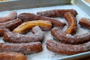 Spice up churros with pumpkin