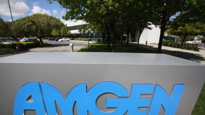 Amgen 3Q profit jumps 24 percent on stronger sales