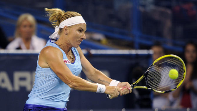 Kuznetsova edges Nara in DC to end title drought