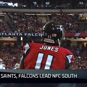 NFL NOW: NFC South teams continue to struggle