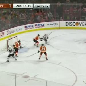Steve Mason Save on Marcus Kruger (04:42/2nd)