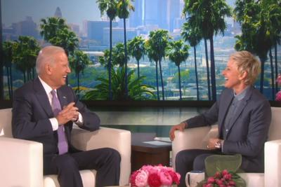 Watch Joe Biden surprise Ellen for her birthday