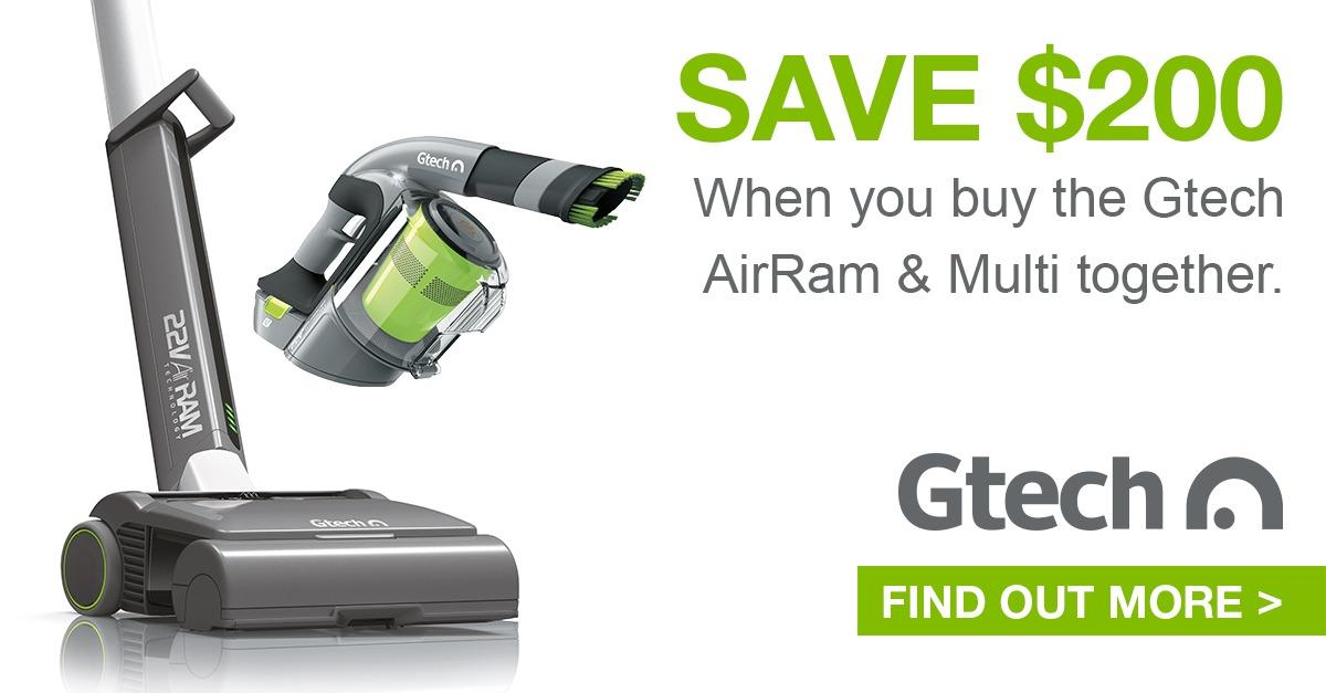 Gtech AirRam & Multi - Save $200