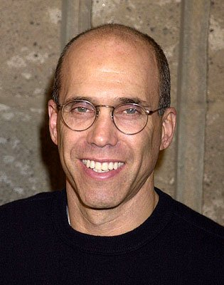 Jeffrey Katzenberg at the Beverly Hills premiere of A Beautiful Mind