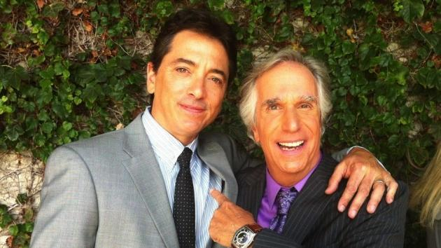 Scott Baio and Henry Winkler -- Twitter