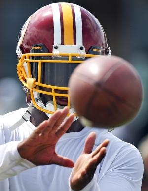 Clark makes voice heard in return to Redskins