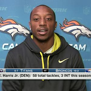 Chris Harris on Broncos continued success