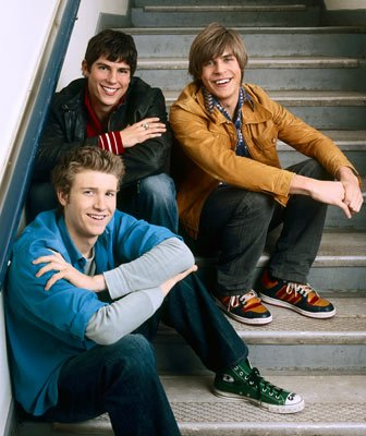 Sean Faris, Chris Lowell and Jon Foster ABC's life as we know it