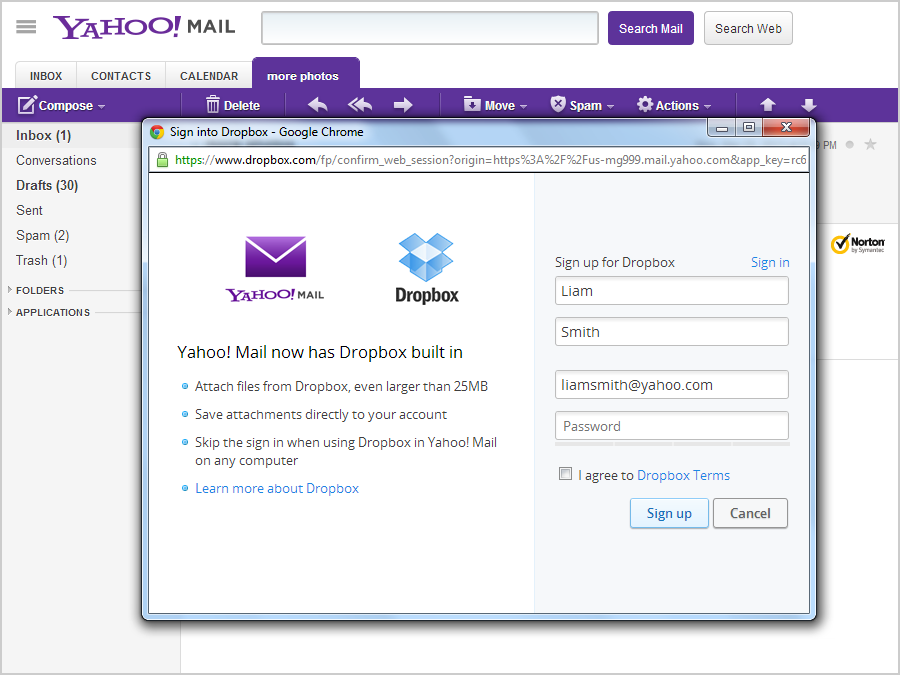 Pics Photos - Mail Sign In Yahoo Mail Box What Do The Gmail Chat Icons ...