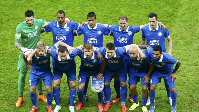 Football - Dnipro players team photo