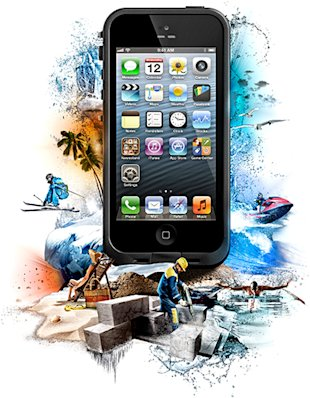 Watch Me Drown My iPhone 5 In Water With A Lifeproof Case! image overview main story v21