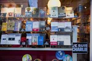 A French bookshop, where staff expect to get copies…