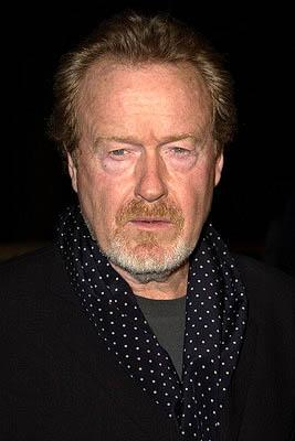 Ridley Scott at the Beverly Hills premiere of Columbia's Black Hawk Down