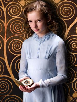 Dakota Blue Richards as Lyra in New Line Cinema's The Golden Compass
