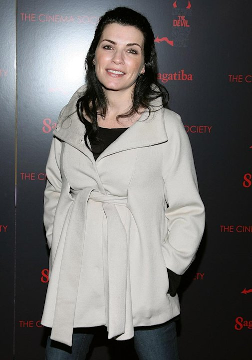"Julianna Margulies attends a screening of ""Before The Devil Knows You're Dead"" hosted by The Cinema Society."