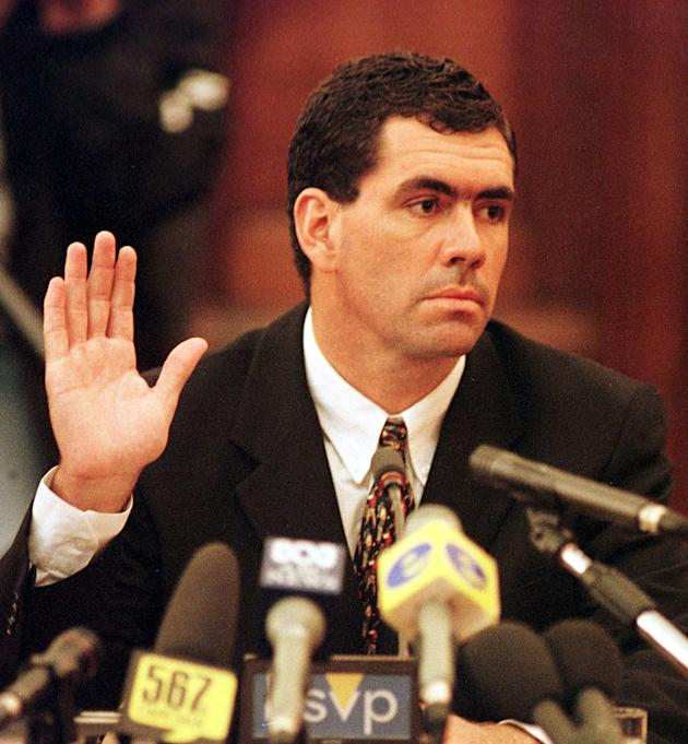 Former South African cricket captain Hansie Cronje