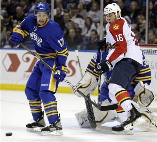 Pominville lifts Sabres past Panthers in OT