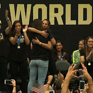 Women's World Cup Team Honored in Los Angeles