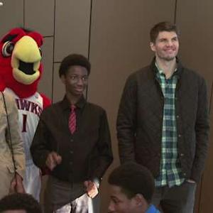 Korver and Brand Visit Civil Rights Center