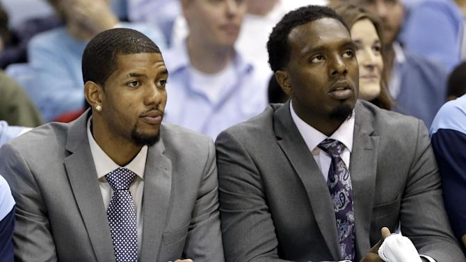 UNC's Hairston, McDonald to sit out again Friday