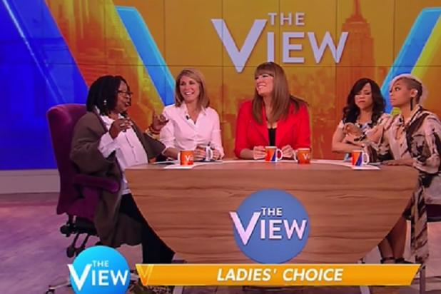 'The View' Gets Heated During Female Voting Segment