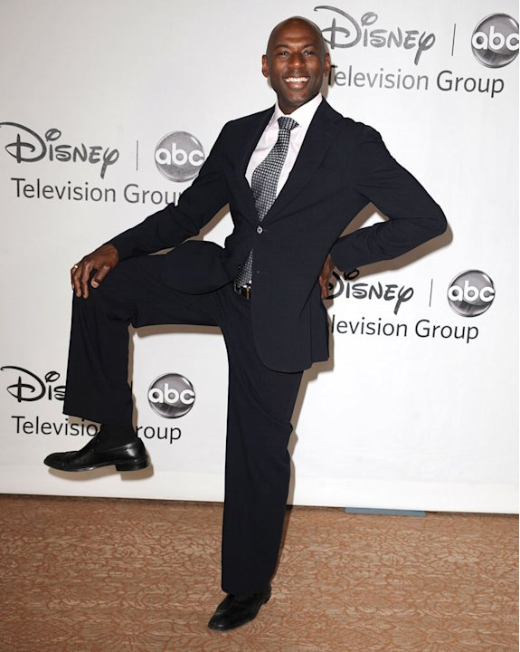 &quot;No Ordinary Family's&quot; Romany Malco arrives at the Disney/ABC Television 2010 TCA Summer Press Tour on August 1, 2010 in Beverly Hills, California. 
