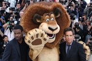 Chris Rock, Alex and his human voice, Ben Stiller