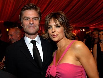 Harry Hamlin, Lisa Rinna Elton John AIDS Foundation's Annual Viewing Party 75th Academy Awards - 3/23/2003