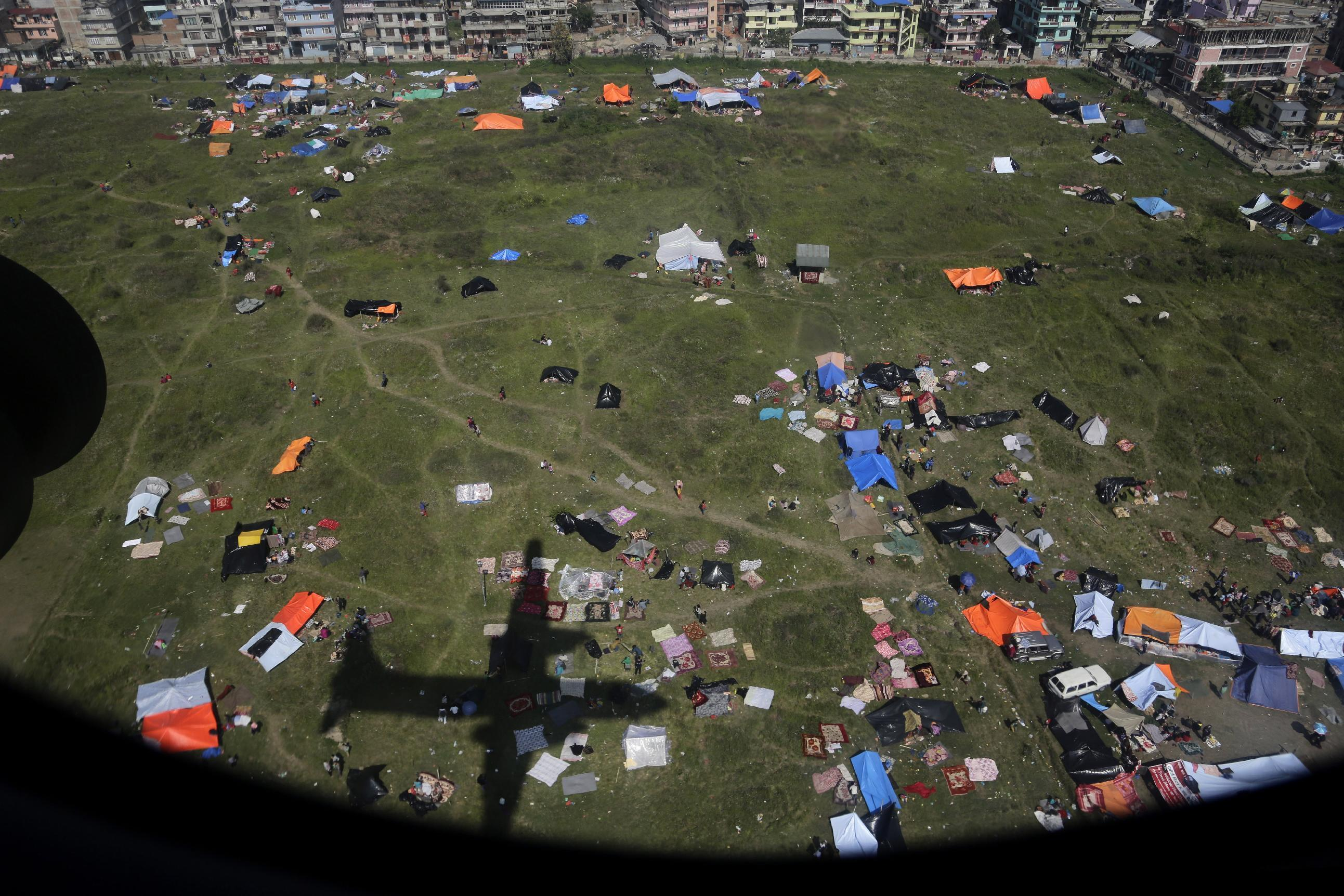 The Latest on Nepal Quake: Aid arriving as deaths top 4,000