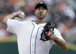 Verlander nearly throws 3rd no-hitter for Tigers
