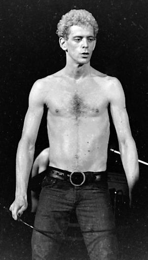 This Oct. 31, 1974 image released by Mark Goff shows Lou Reed in concert in Milwaukee. Reed died Sunday Oct. 27, 2013 at the age 71. (AP Photo/Mark Goff)