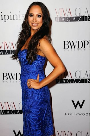 Cheryl Burke arrives for Cheryl Burke Hosts Viva Glam Magazine's November Issue in Hollywood, Calif. on October 29, 2012 -- Getty Premium