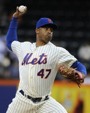 Batista, Francisco pitch Mets past Brewers 3-1