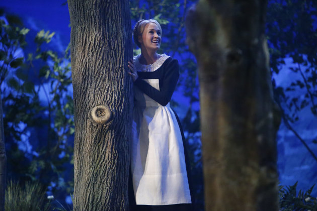 "Carrie Underwood as Maria in ""The Sound of Music Live!"""