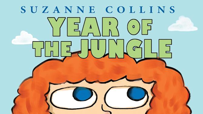 "An undated image provided by Scholastic Inc. shows the cover of novelist Suzanne Collins' new book coming out next year, ""Year of the Jungle"". The multimillion-selling children's author has completed an autobiographical picture story scheduled for Sept. 10, 2013, Scholastic Inc. announced Thursday, Nov. 29, 2012. (AP Photo/Scholastic Inc.)"