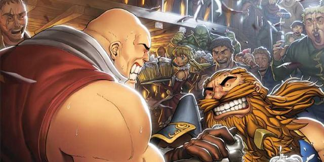 Play as Baldy and Shorty from SKULLKICKERS in Kickstarter Tabletop Game