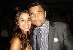 Khatira Rafiqzada and Michael Ealy | Photo Credits: Michael Ealy