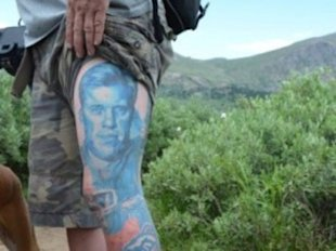 The NFL's most devoted fans show off their ink...