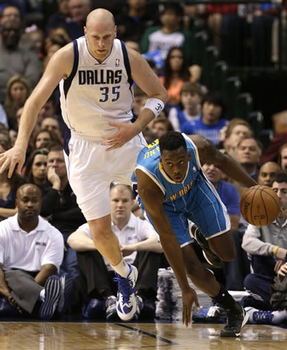 Hornets 99-96 in OT over Mavs in Dirk's 1st start