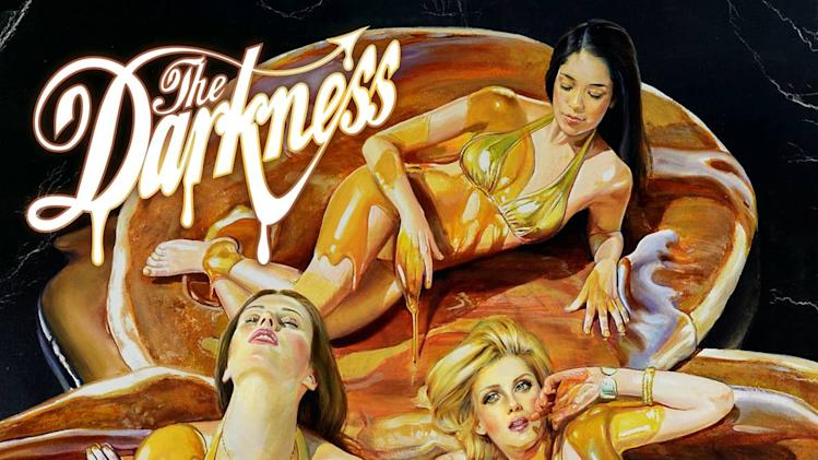 "This CD cover image released by Wind up Records shows the latest release by The Darkness, ""Hot Cakes.""   (AP Photo/Wind up Records)"